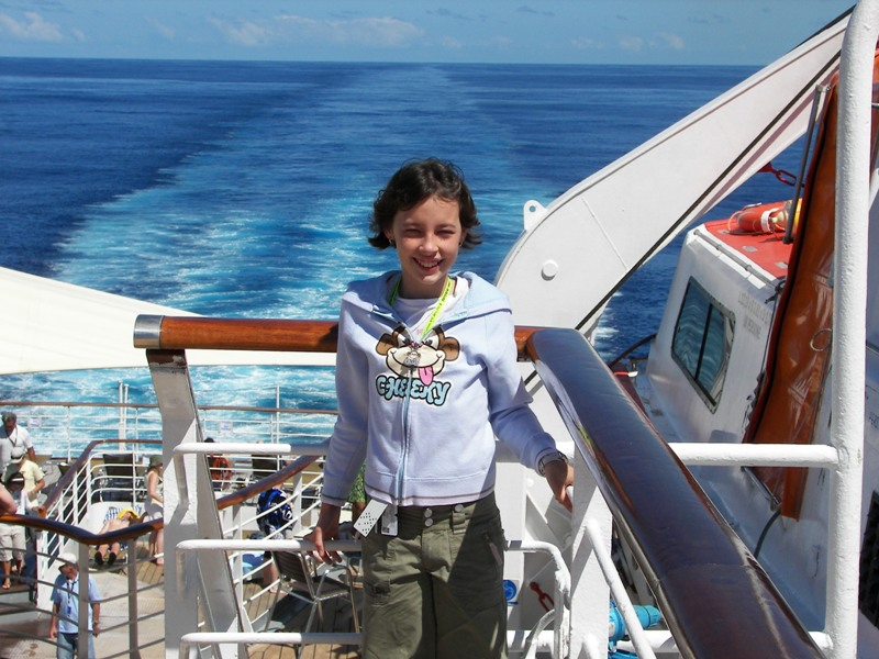Lila First day At Sea (3)