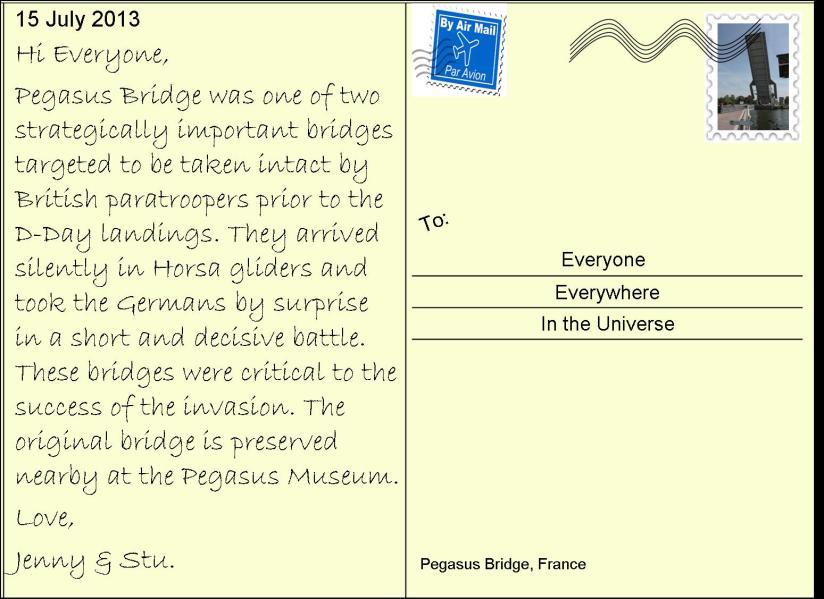 26 Pegasus Bridge