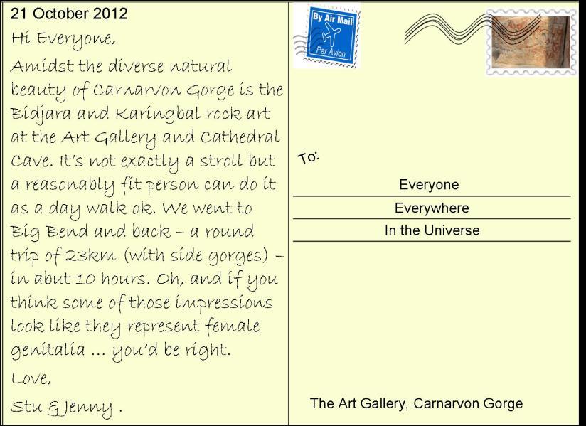 47 Carnarvon Gorge