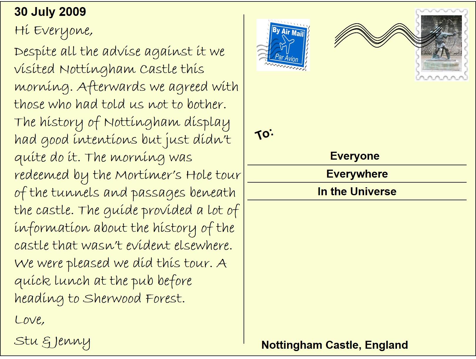 82 Nottingham Castle